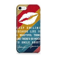 Marilyn Monroe Quotes iPhone 6 | iPhone 6S Case