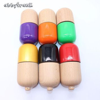 Abbyfrank Professional Pill Kendama Ball Natural Wooden Japanese Traditional Toy Ball Game Juggling For All Age Gift