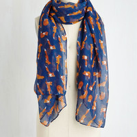 Tail Me About It! Scarf in Fox | Mod Retro Vintage Scarves | ModCloth.com