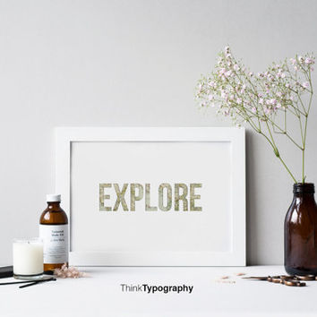 Explore,Travel, map poster, travel poster, home decor, art print, minimal, minimalist, wall art, decor, home, office, simple, clean, tourist