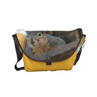Fuzzy wuzzy small messenger bag