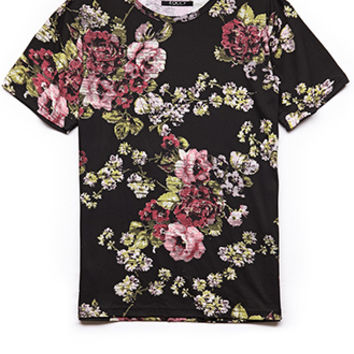 Abstract Floral Tee