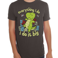 T-Rex I Do It Big T-Shirt