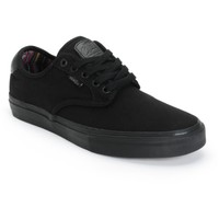 Vans Chima Pro Guate Black Skate Shoes (Mens)
