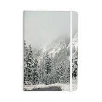 "Robin Dickinson ""Winter Wonderland"" White Gray Everything Notebook"