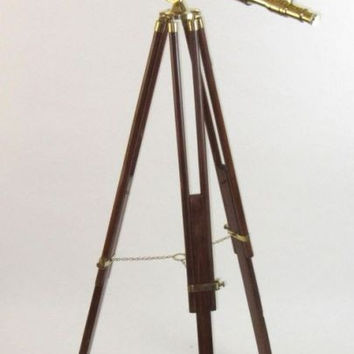 Mesmerizing Antique Styled Telescope Double Barrel