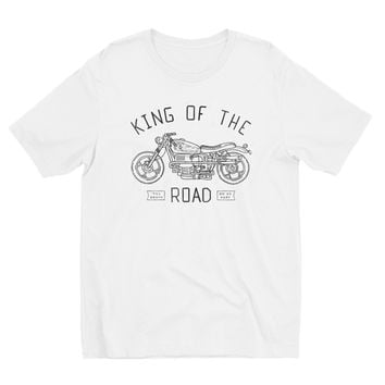 King Of The Road Tee White