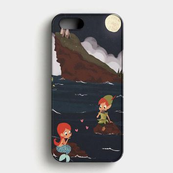 Peter Pan And Ariel Mermaid iPhone SE Case