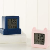 Kitty & Car Digital Clocks
