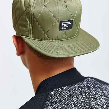 Stussy Quilted Foam Snapback Hat-