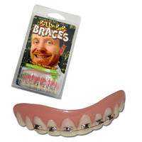 Billy Bob Braces Teeth
