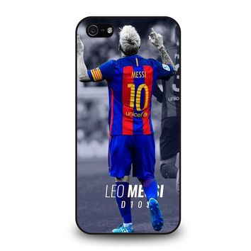 LIONEL MESSI BARCELONA 10 iPhone 5 / 5S / SE Case