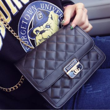 Women shopping shoulder bag female inclined shoulder bag Black