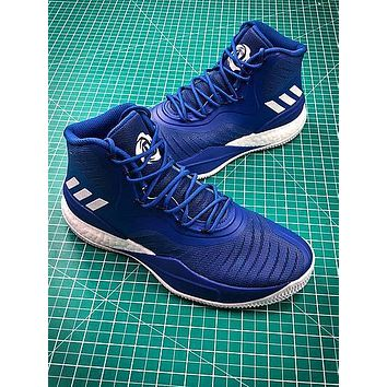 Adidas D Rose 8 Blue Boost Basketball Shoes