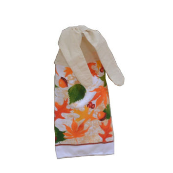Fall Dish Towel, Kitchen Hand Towel, Microfiber Towel, Tea Towel, Hanging Towel, Fall Decor, Kitchen Decor, Tie on Towel, Housewarming Gift