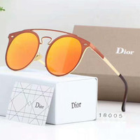 Dior Round Fashion Popular Sun Shades Eyeglasses Glasses Sunglasses H-A50-AJYJGYS