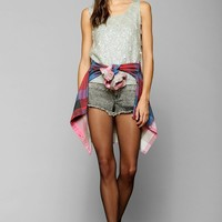 Vintage Sleeveless Beaded Top - Urban Outfitters