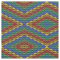 Multicolor Abstract Fabric