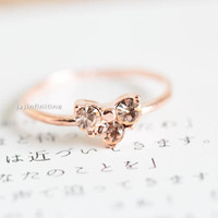 owl heart ring, cz heart ring, heart ring,knuckle ring,pinky rings,jewelry rings,heart engagement rings,wedding ring