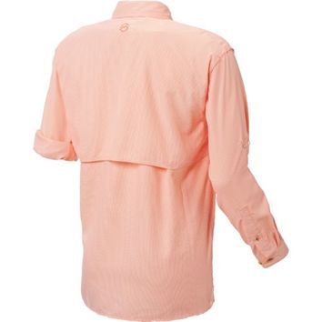 Magellan Outdoors™ Men's Aransas Pass Mini Check Long Sleeve Fishing Shirt