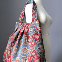 Oversized Carpet bag, shoulder tote bag, Boho bag, Gypsy bag, Hippie bag, Hobo bag
