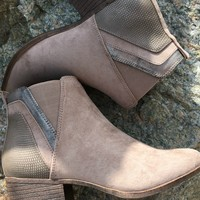 Madden Girl | Hooper Ankle Bootie in Taupe