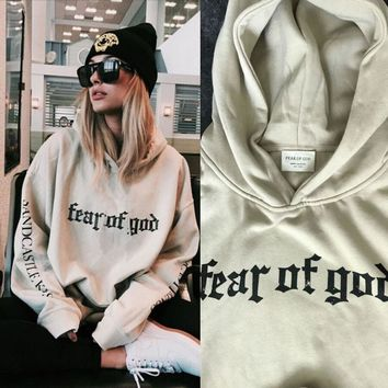 Justin Bieber FOG Purpose Tour Men Woman Hoodies 2016 Spring New Long Sleeve Man Lovers Hooded Sweatshirt S-3XL
