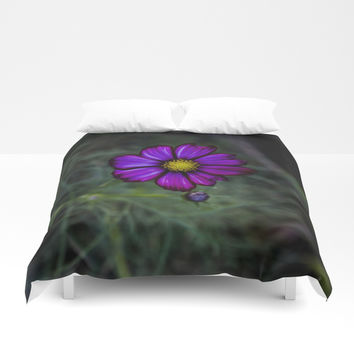 Floral autumn Duvet Cover by VanessaGF