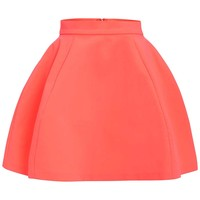 Shade Pink Full Mini Skirt