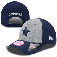 Dallas Cowboys New Era Womens 2014 NFL Draft 9FORTY Adjustable Hat - Navy Blue