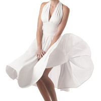 Marilyn Monroe Costume Dress - Costume Marilyn Monroe
