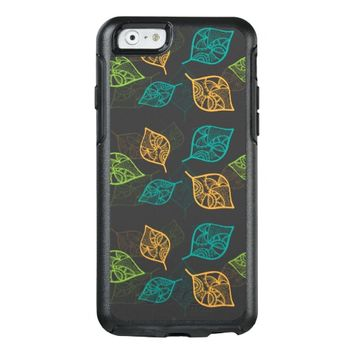 Graceful Leaves Pattern OtterBox iPhone 6/6s Case