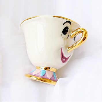 1 Pcs Beauty and the Beast Mrs Potts' son,Chip Only Mug Tea Coffee Cup for friend Christmas Gift