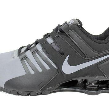 Tagre™ Nike Men s Shox Current Cool Grey Black Running Shoes 633 5a0182452