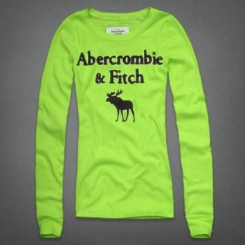 Abercrombie & Fitch Women Fashion Casual Shirt Top-9