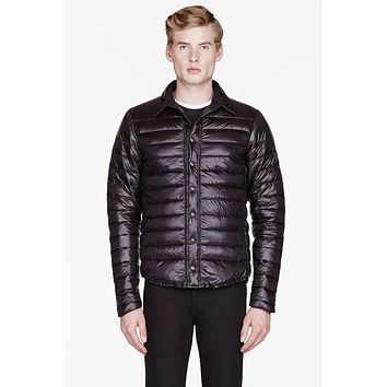 Canada Goose Black Quilted Beaconsfield Shirt Jacket