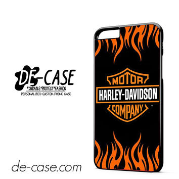 Harley Davidson Flame Logo DEAL-5043 Apple Phonecase Cover For Iphone 6/ 6S Plus