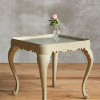 Anella End Table by Anthropologie in Grey Size: One Size Furniture