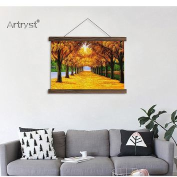 Bright Nature View Canvas Hanging