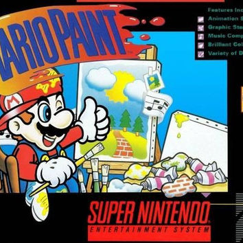 Mario Paint  (Super NES, 1992)