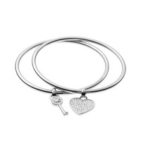 Awesome Christmas Gift for Girlfriend Jewelry New Arrival Shiny Accessory Stylish Alloy Diamonds Bangle [8573521741]