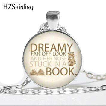 NS-00222 New Fashion Art Glass Pendant Beauty and the Beast Necklace Flowers Rose Jewelry Pendant Glass Cabochon HZ1
