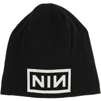 Nine Inch Nails Men's Logo Beanie Black