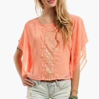 By a Thread Lacey Top