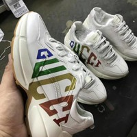 Gucci retro sports couple shoes