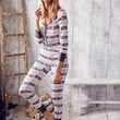 Fireside Onesuit Pajama - The Fireside Collection - Victoria's Secret