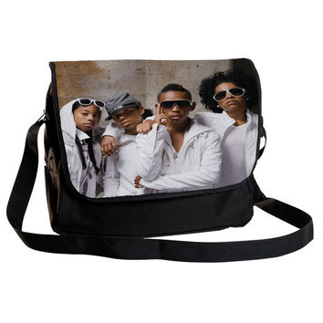 "MINDLESS BEHAVIOR - High quality 12"" Messenger bag & FREE gift. Free shipping    (shoulder,cross body,school,gift)"