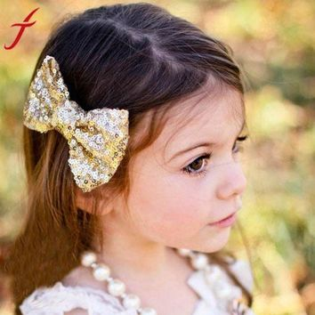 DCCKU7Q Girls Big Bow Hair Accessories