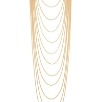 Longline Chain Layered Necklace