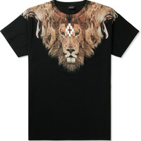 Marcelo Burlon Brown The King LTD T-Shirt | HYPEBEAST Store. Shop Online for Men's Fashion, Streetwear, Sneakers, Accessories